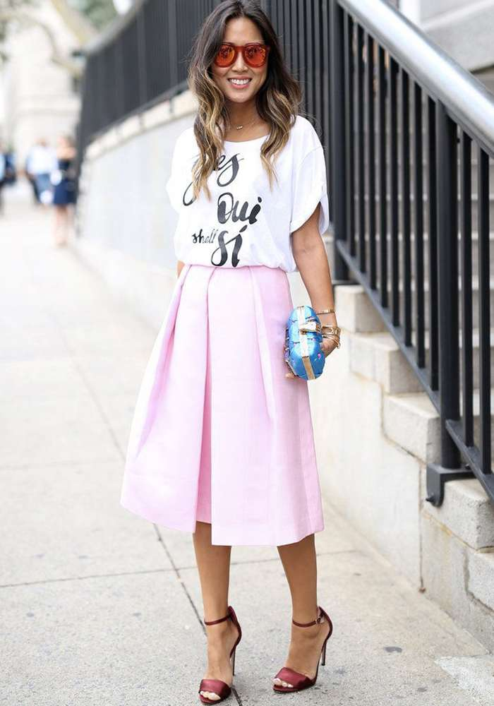 New York Fashion Week Primavera 2015 Street Style